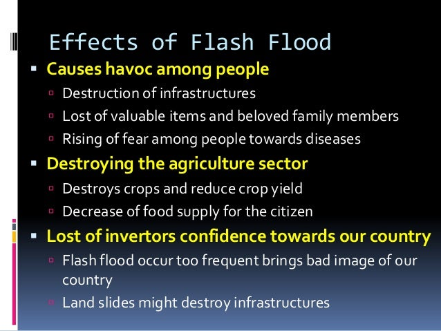 cause and effect of flood in philippines pdf