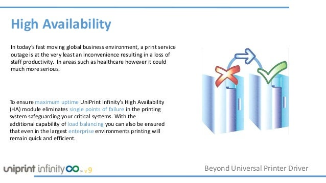 High Availability For Your Printing Infrastructure Slide 3