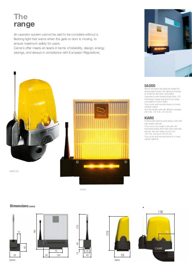 Flashing light- LED FLASHING LIGHTS FOR ALL OPERATOR SYSTEMS