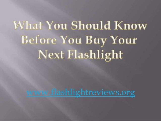 www.flashlightreviews.org