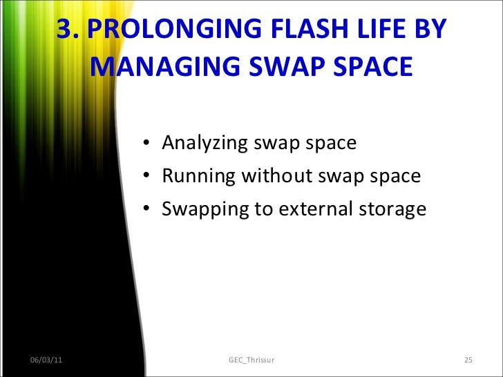 Flash memory as a hard drive replacement