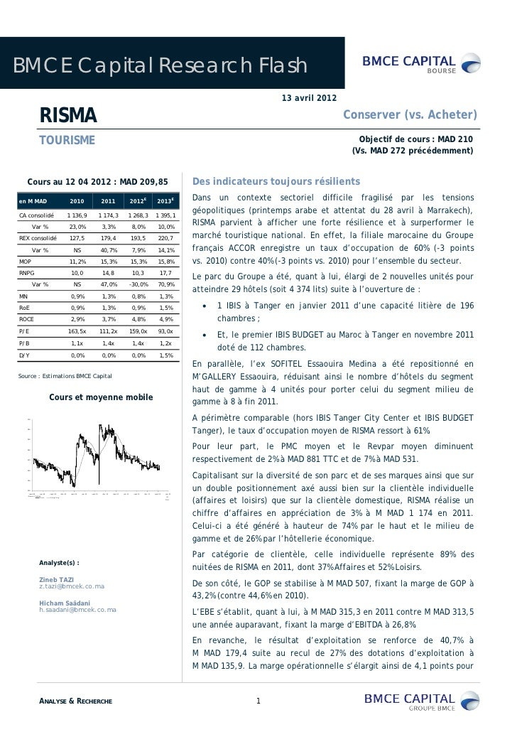 BMCE Capital Research Flash                                                                                               ...