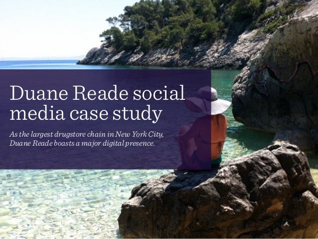Duane Reade social media case study! As the largest drugstore chain in New York City,  Duane Reade boasts a major digital...