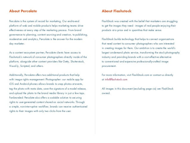 About Flashstock ! FlashStock was created with the belief that marketers are struggling  to get the images they need - im...