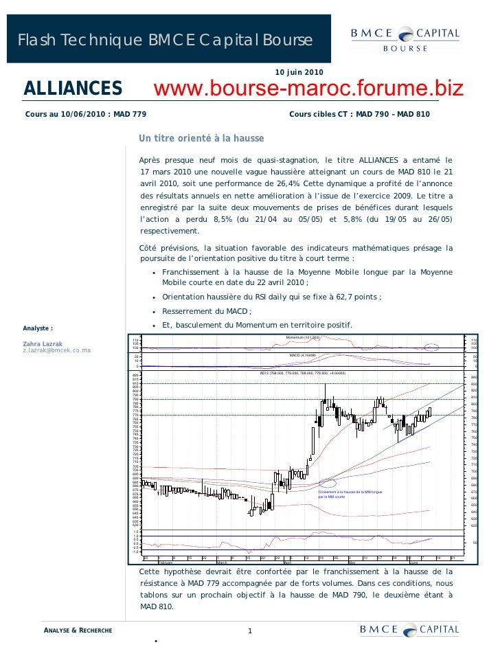 Flash Technique BMCE Capital Bourse                                                                                       ...