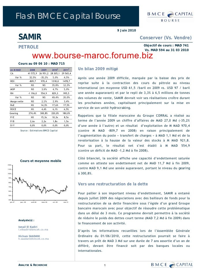 Flash BMCE Capital Bourse                                                                                                9...