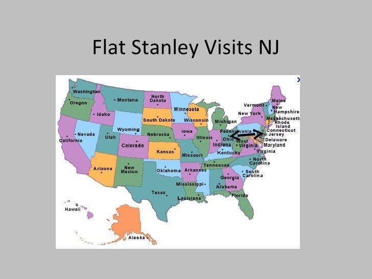 Flat Stanley Visits NJ