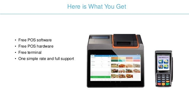 Flat Rate Processing with a Free Point of Sale