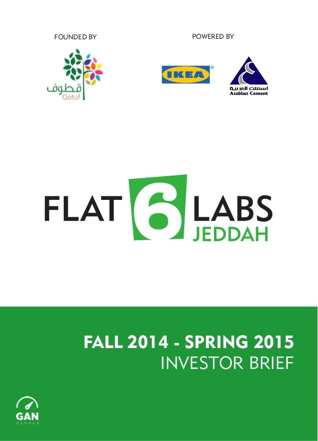 FALL 2014 - SPRING 2015 INVESTOR BRIEF POWERED BYFOUNDED BY