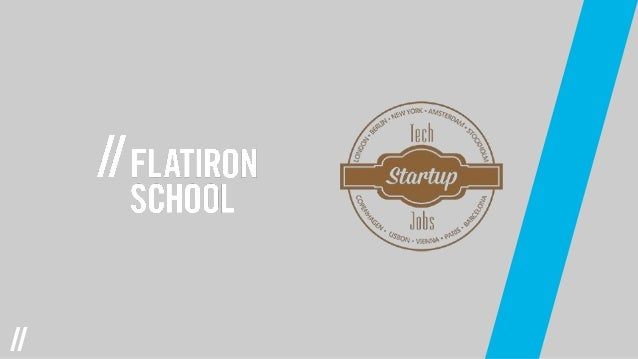 Flatiron school x tech jobs fair