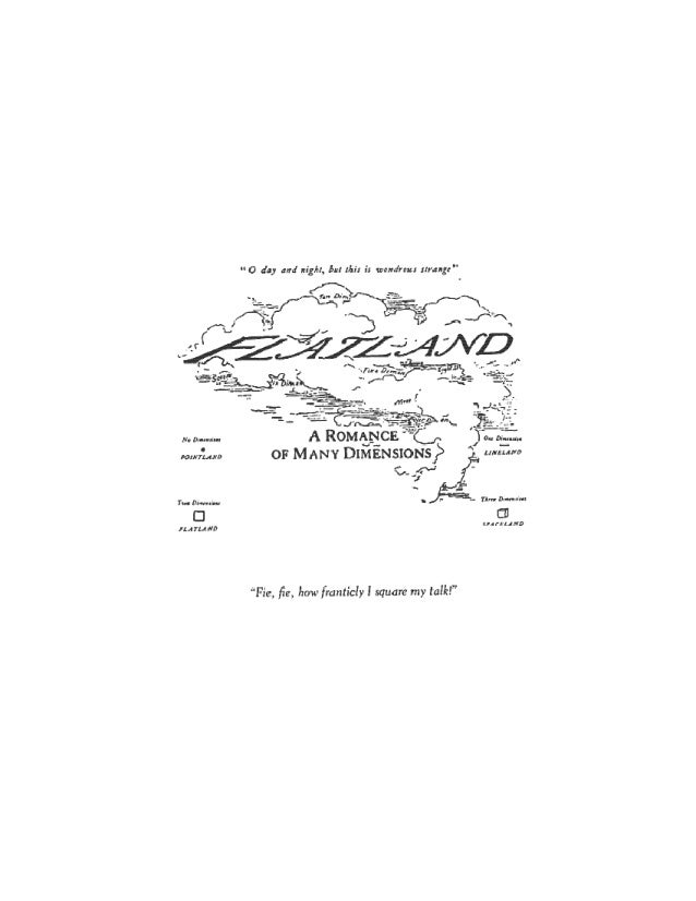 EDWIN ABBOTT ABBOTT - FLATLAND - 2 - FLATLAND A Romance of Many Dimensions With Illustrations by the Author, A SQUARE (EDW...