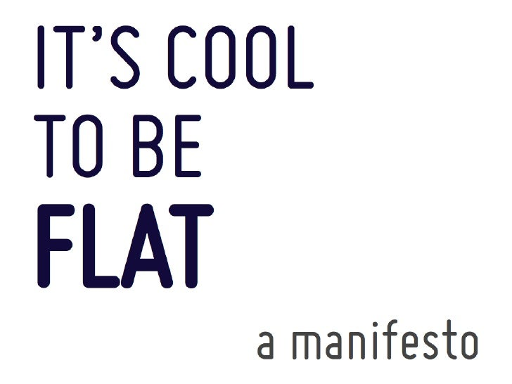 It's COOL to be FLAT, v2