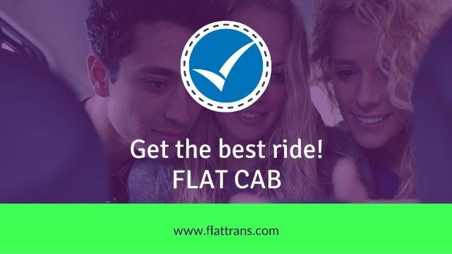 Flat Rate Cab Slide 3