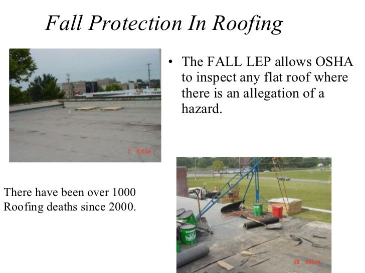Wonderful ... 4. Fall Protection In Roofing ...