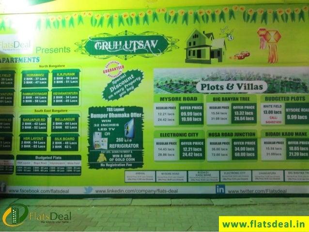 Flats Deal Gruhutsav Property Home Fair Bangalore