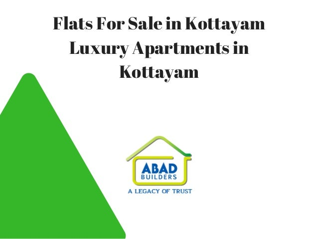 Flats For Sale in Kottayam Luxury Apartments in Kottayam