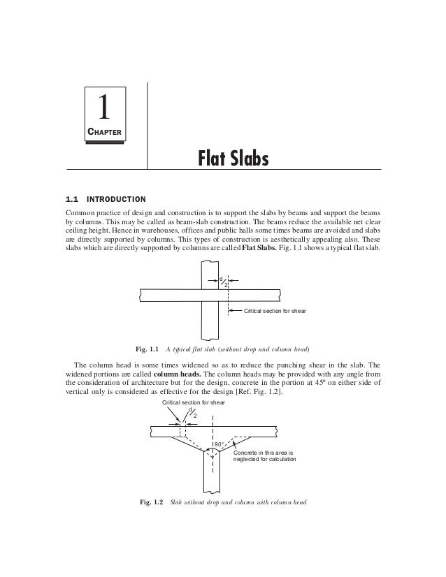 DESIGN OF FLAT SLABS