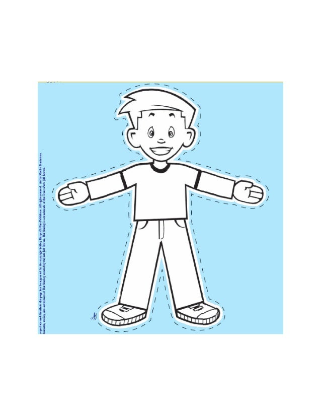Flat stanley front