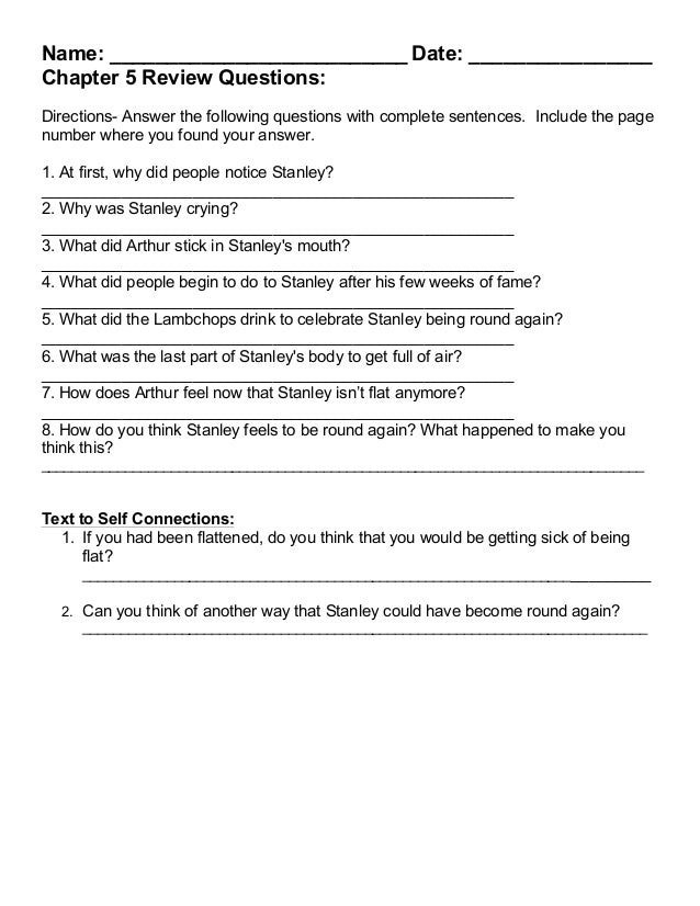 Flat stanley 2014 2015 packet – Flat Stanley Worksheets