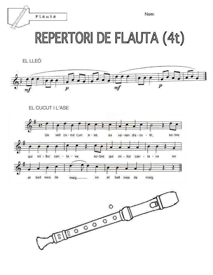 Nom:    FlautaEL LLEÓ  EL CUCUT I L'ASE