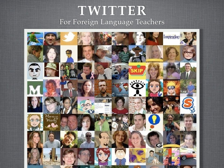 TWITTER For Foreign Language Teachers