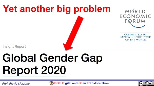 DOT: Digital and Open TransformationProf. Flavia Marzano Yet another big problem