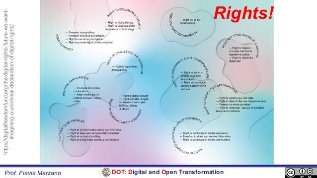 DOT: Digital and Open TransformationProf. Flavia Marzano https://digitalfreedomfund.org/the-digital-rights-future-we-want-...