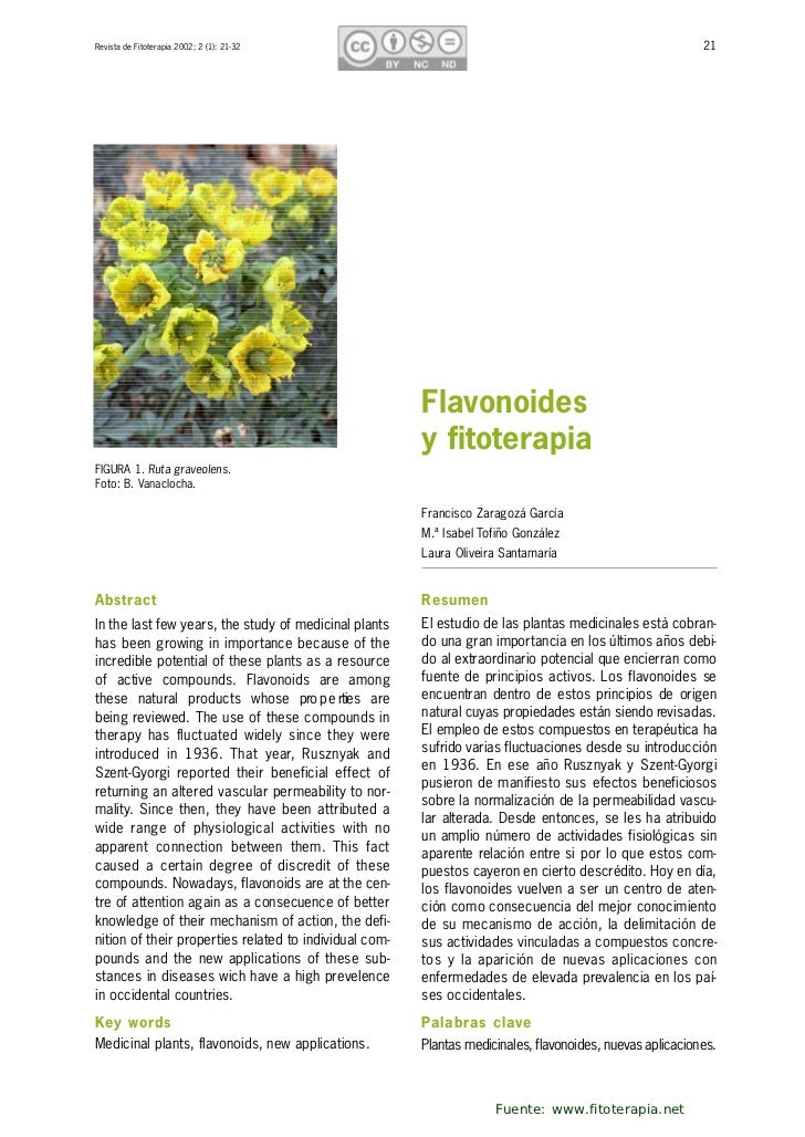 Revista de Fitoterapia 2002; 2 (1): 21-32                                                                  21             ...