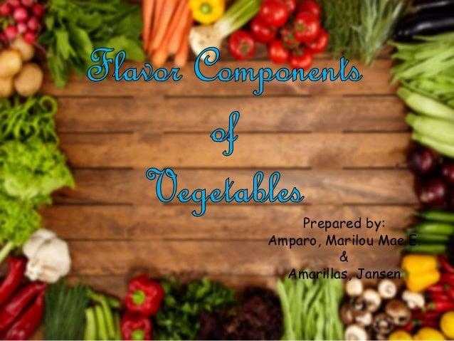 Prepared by: Amparo, Marilou Mae E. & Amarillas, Jansen