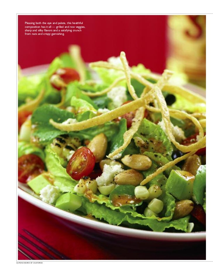 Pleasing both the eye and palate, this healthful        composition has it all — grilled and raw veggies,        sharp and...