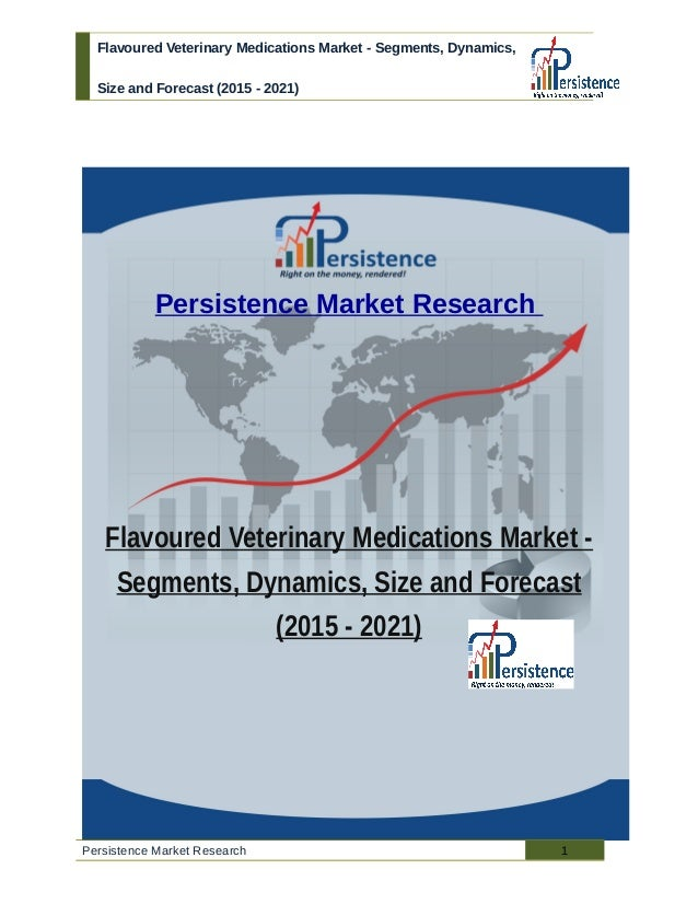 Flavoured Veterinary Medications Market - Segments, Dynamics, Size and Forecast (2015 - 2021) Persistence Market Research ...