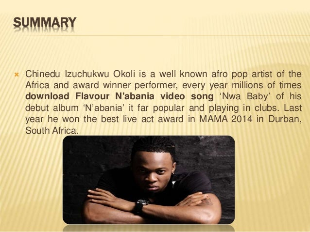 Flavour n'abania most popular afropop african artist