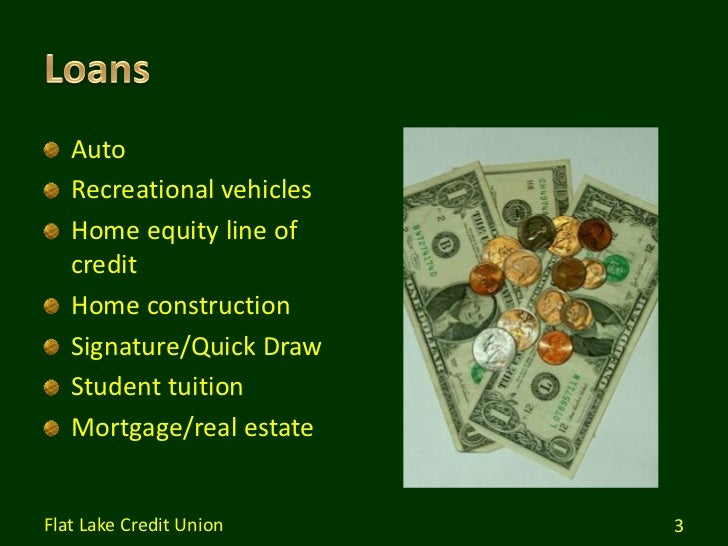 Services and Benefits of Credit Union Membership Slide 3