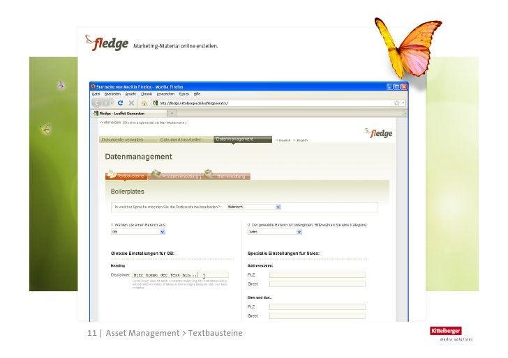 fledge ist flexibel        > Eigene Bildverwaltung              > Bereitstellen von abgestimmten Bildmaterial           ...