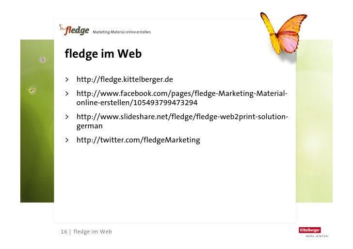 fledge Web2Print Solution (German)