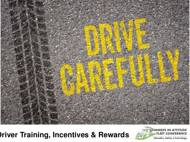 Driver Training, Incentives & Rewards