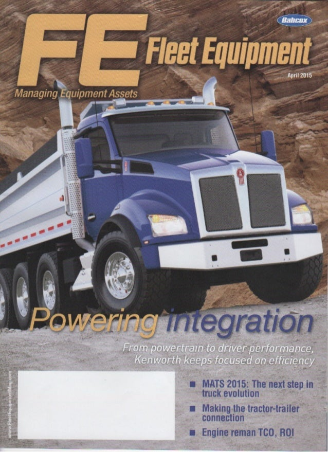 Fleet Equipment April 2015 - EpicVue