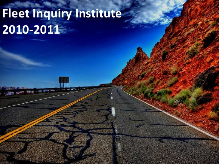 Fleet Inquiry Institute2010-2011<br />