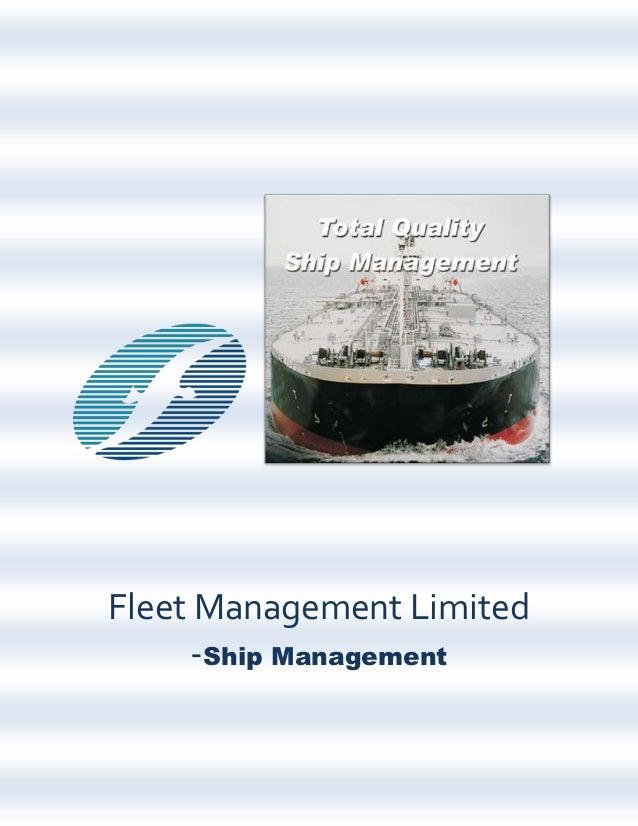 Fleet Management Limited Ship Management