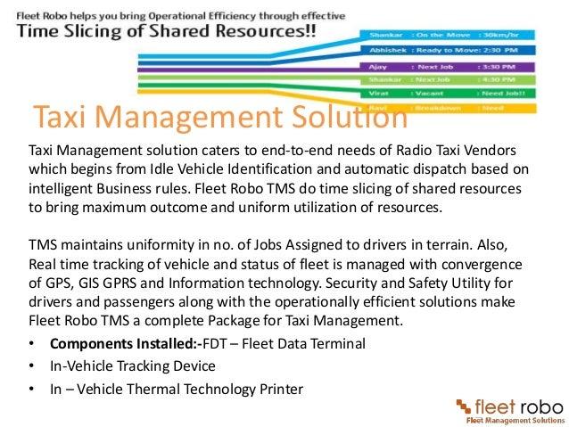 Fleet Robo Fleet Management Solutions With Gps Vehicle