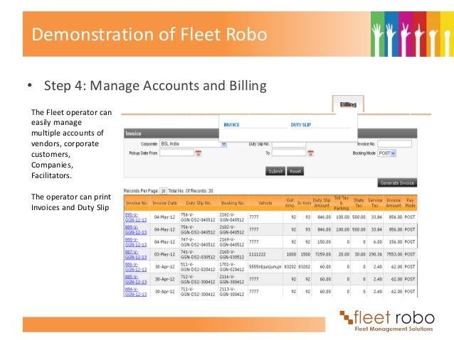 Fleet Robo Fleet Management Solutions And Gps Vehicle