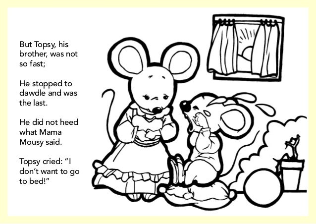 little mouse coloring pages - photo#33