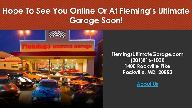 Flemings Ultimate Garage Buy Classic Cars Online