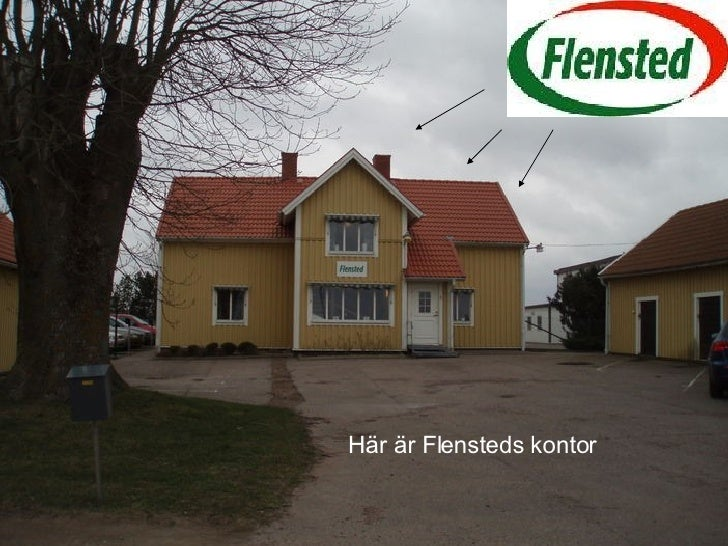 Här är Flensteds kontor