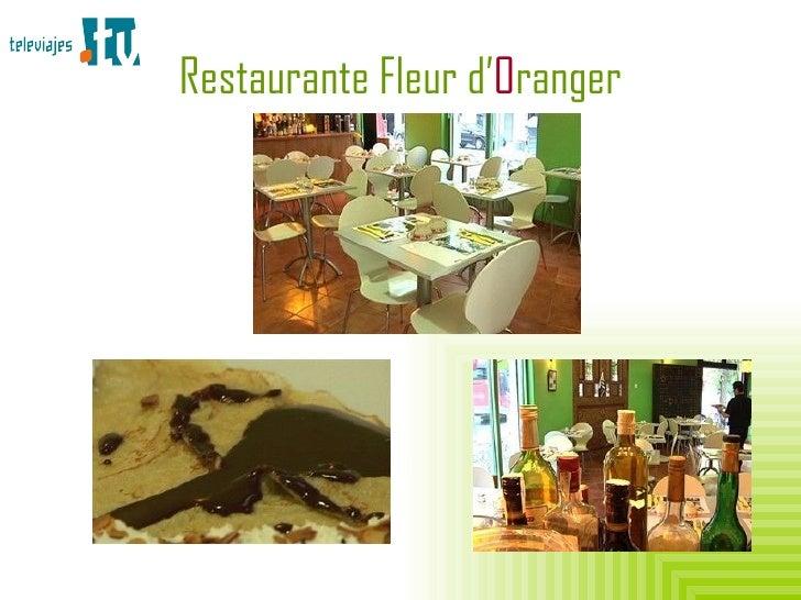 Restaurante Fleur d' O ranger