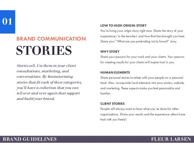 Nonprofit consultant facilitator brand book for Brand consultant