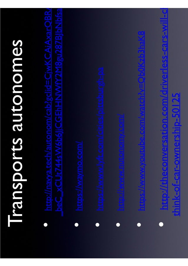 Transportsautonomes http://navya.tech/autonom/cab?gclid=CjwKCAiAxarQBRA _beC_xCUt744sW6b6JjCGEhHNWfY2M8gu287BJbNbfsabz htt...