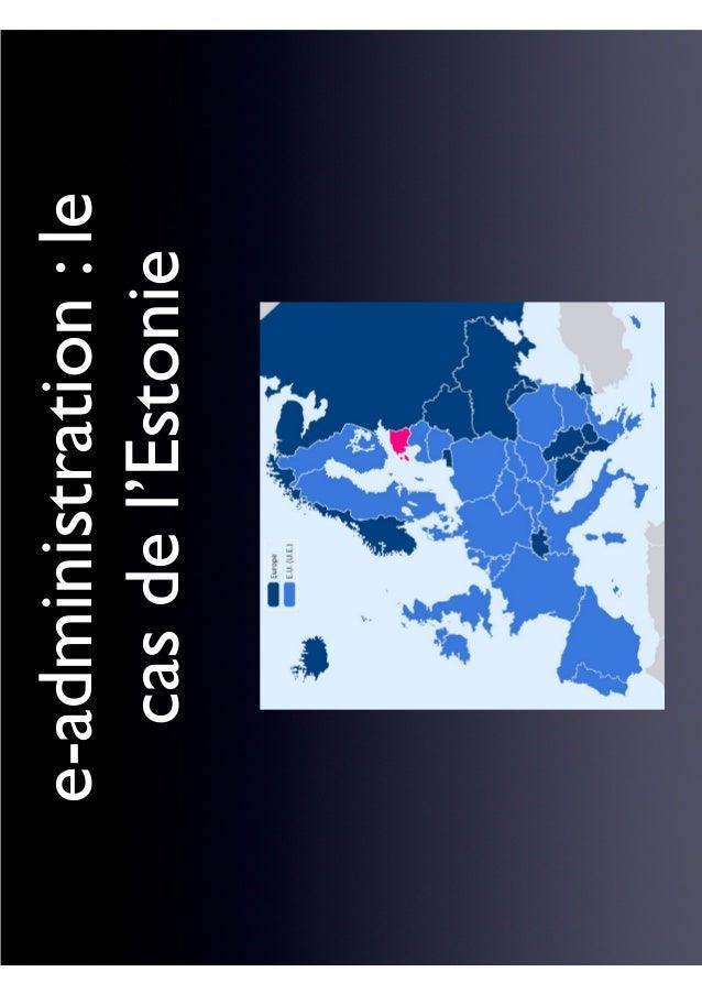 e-administration:le casdel'Estonie