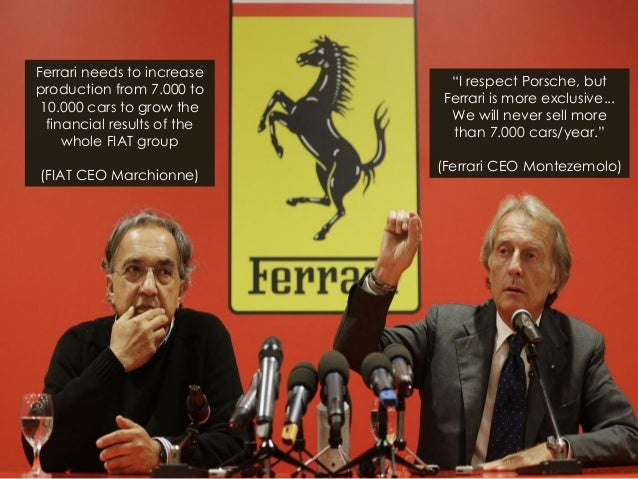 Ferrari needs to increase production from 7.000 to 10.000 cars to grow the financial results of the whole FIAT group (FIAT...