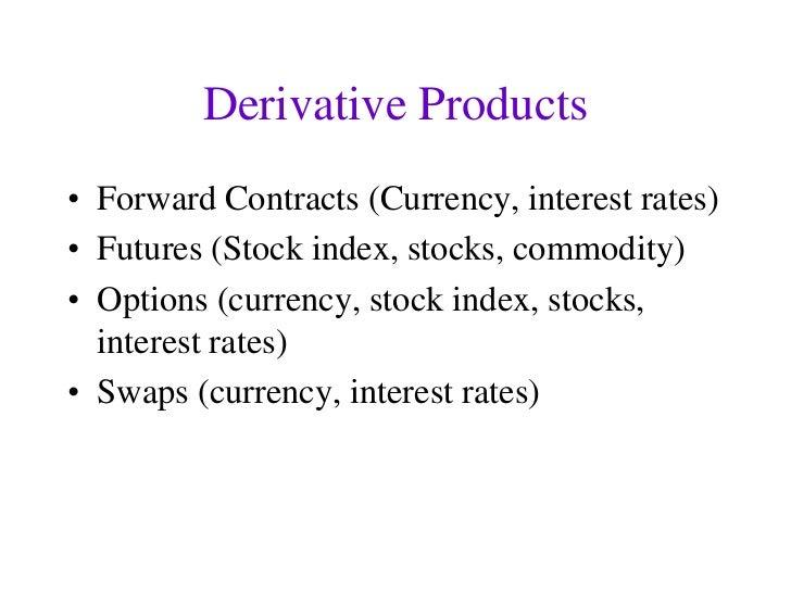 Commodity options vs stock options